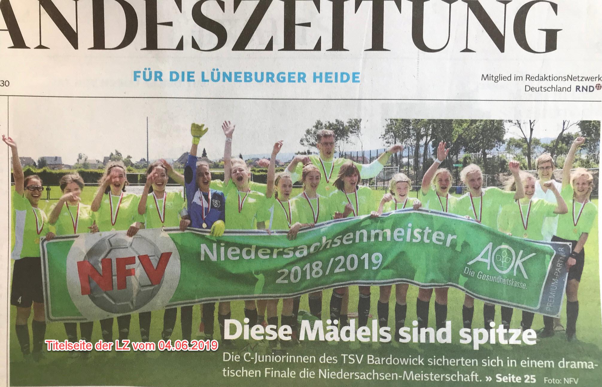 TSVBardowick C Juniorinnen Niedersachsenmeister LZ Seite1