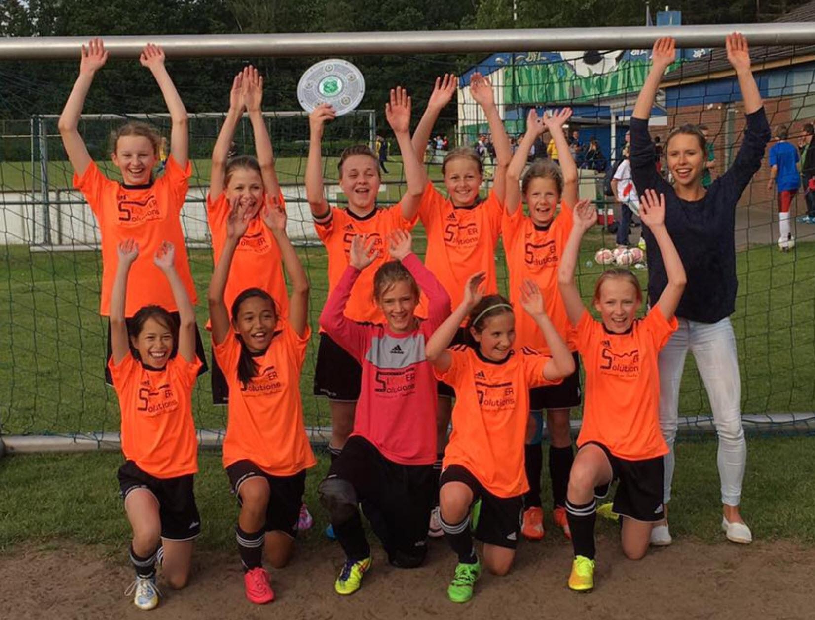TSV Bardowick: Kreismeister der D-Juniorinnen