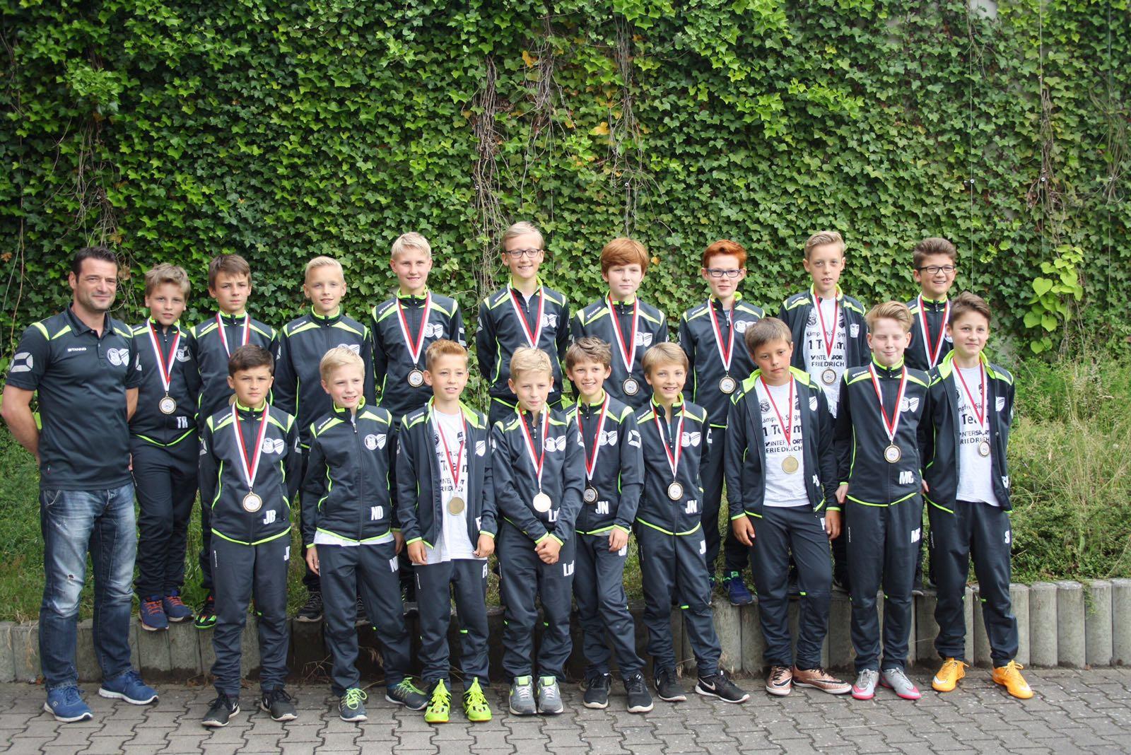 TSV Bardowick: Staffelsieger der U12
