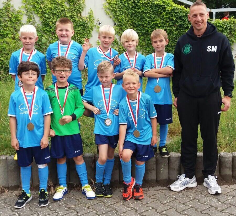 TSV Bardowick: Staffelsieger der U8-2