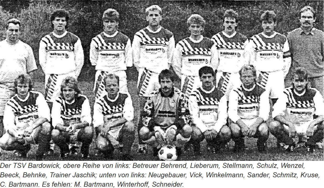 TSV Bardowick 1. Herren 1992