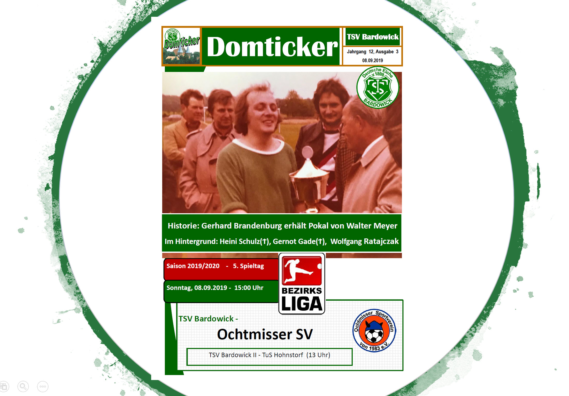 Derby gegen den Ochtmisser SV